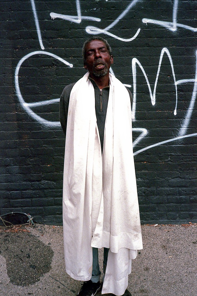 Man with white sheet | by ADMurr