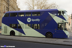 Wrightbus NRM NBFL - LTZ 1068 - LT68 - Spotify - Clapham Common 88 - Go Ahead London - London 2016 - Steven Gray - IMG_5102