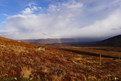 Rainbow in Coire Doe | by Nick Bramhall