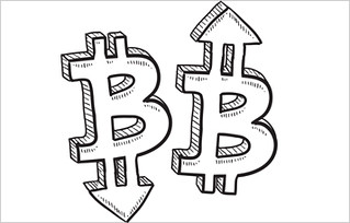 Bitcoin Currency Sign That Looks