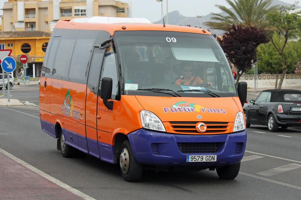 ... majorcatransport Futurtrans 9579 GDN, Iveco Daily in Puerto Alcudia |  by majorcatransport