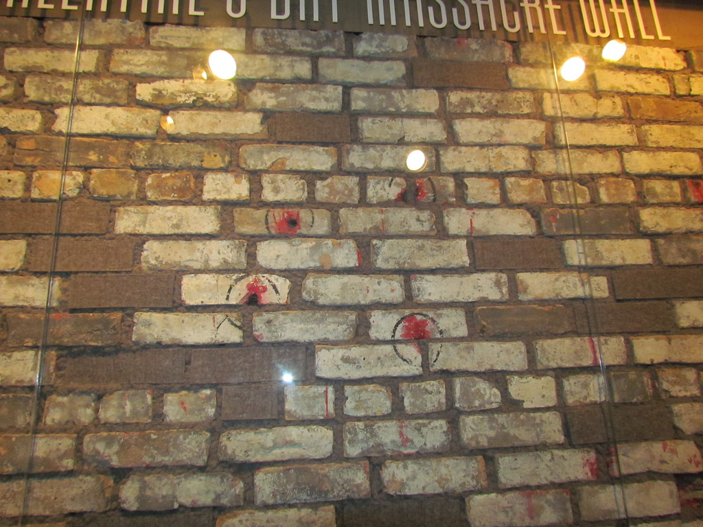 St Valentine S Day Massacre Wall The St Valentine S Day Flickr