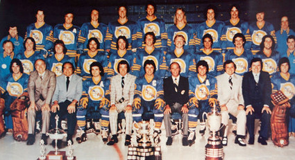1975-76 Hamilton Fincups team