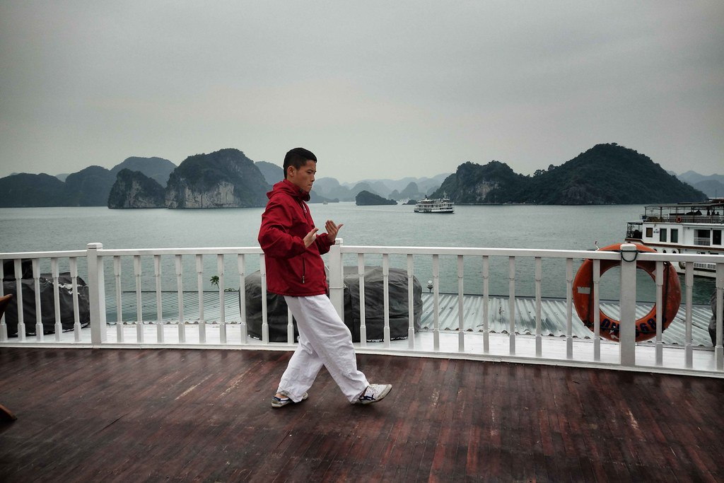 Halong Bay - Indochina Sail - Tai Chi