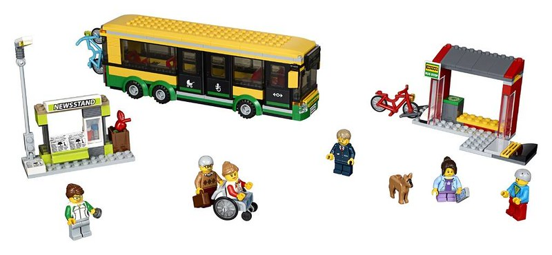 LEGO City Bus Station (60154)