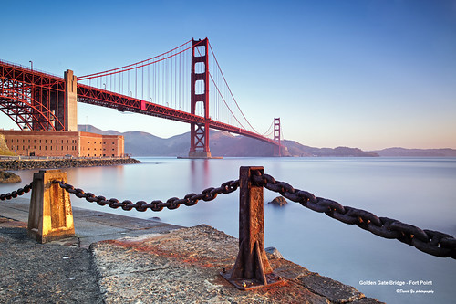 Golden Gate Bridge - Fort Point | by davidyuweb