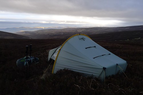 Wild camping above Glen Esk | by Nick Bramhall