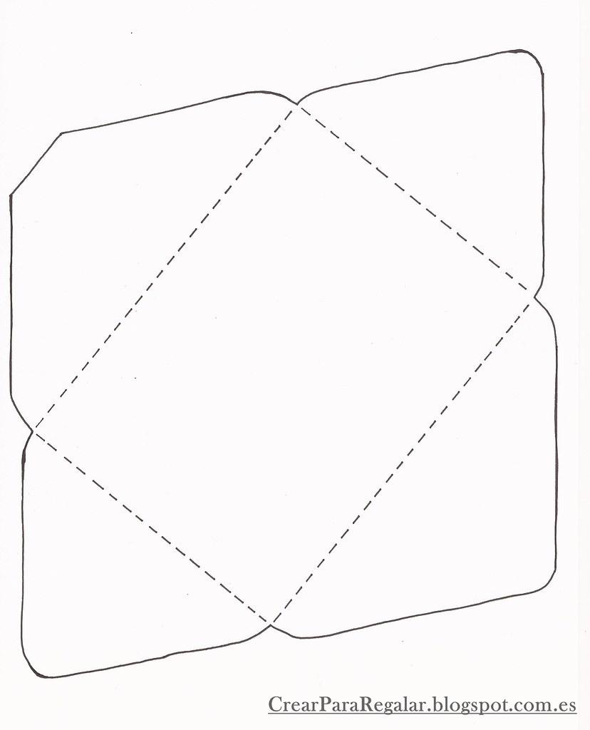 Vistoso Plantilla De Sobre 9x12 Motivo - Colección De Plantillas De ...