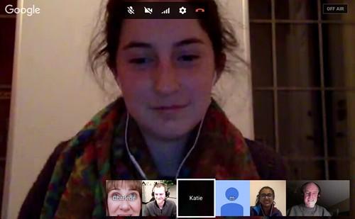 Katie Eder and Crew on EdInnov Hangout