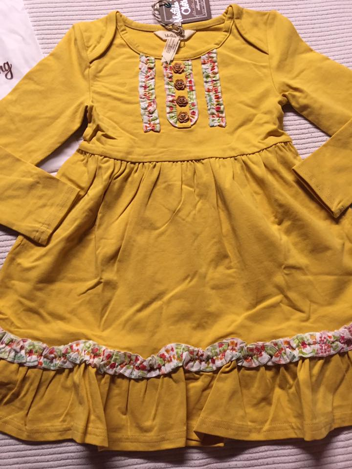 Vault Yellow Lap Dress