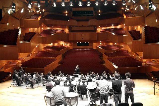 EL CONSERVATORIO DE LEÓN EN EL FESTIVAL MUSIKA-MÚSICA BILBAO 2017 - GRAN AUDITORIO DEL PALACIO EUSKALDUNA 4.3.17