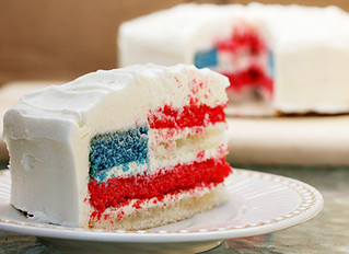 4th of July Flag Cake | by Elissa @ 17 and Baking