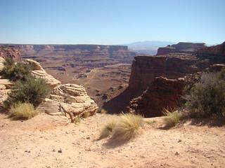09 Trail naar Mesa Arch