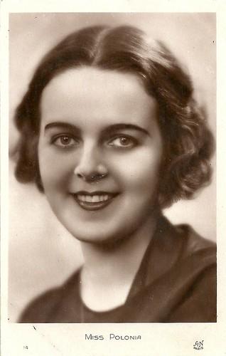 Miss Europe candidate 1930: Zofia Batycka