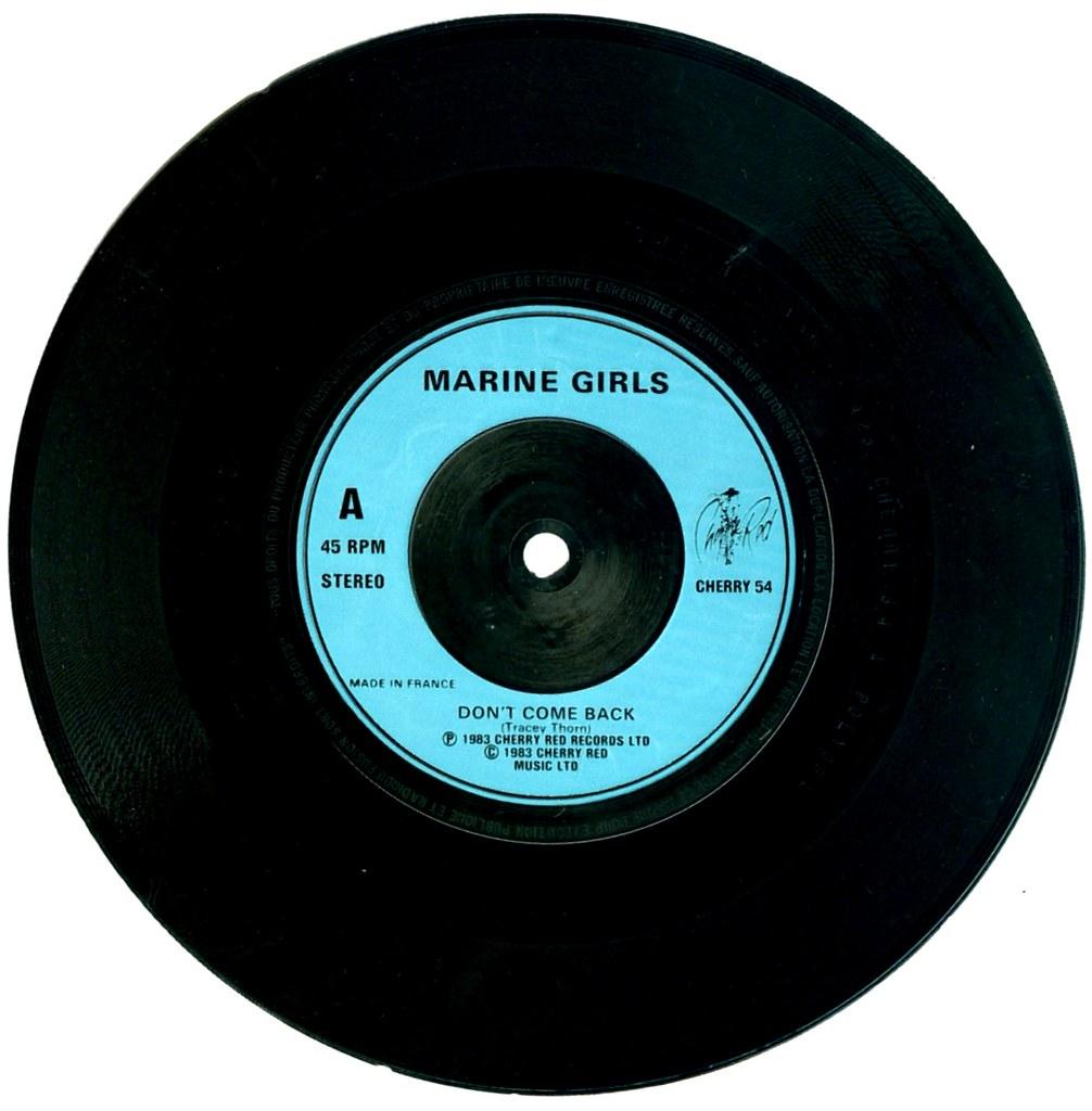 Marine Girls - Don\'t Come Back - France - 1983-- | Klaus Hiltscher ...