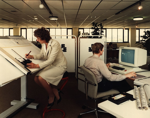 Office workers in the 1970's | by Tyne & Wear Archives & Museums