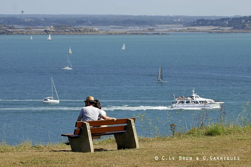 Baie de st cast en croisi re au d part de st cast le guild flickr - Office tourisme saint cast ...