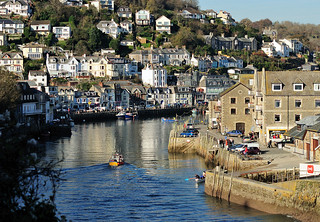 Autumn on the River Looe | by rosiespoonerphotos