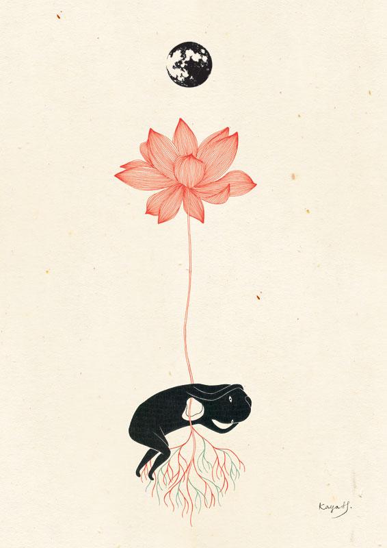 Inspired by radiohead lotus flower 2012 kaya huang inspired by radiohead lotus flower by kaya huang mightylinksfo