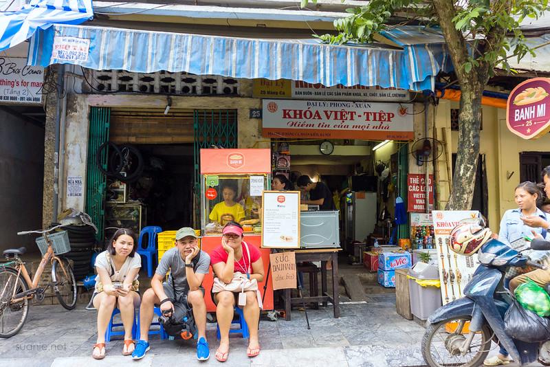 Hanoi itinerary - Day 04 banh mi