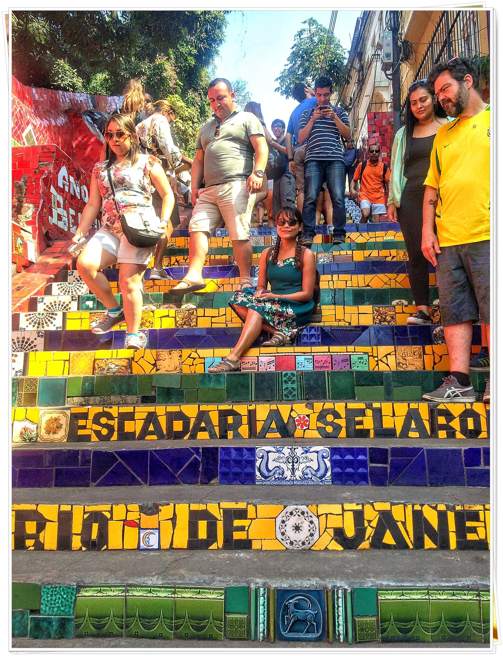 2016 Rio de Janeiro (Escadaria Selaron)