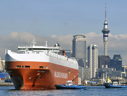 Container nach Neuseeland