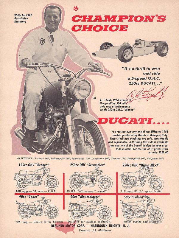 Ducati AJ Foyt