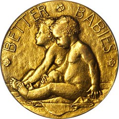 1913 Better Babies Medal obverse - Copy