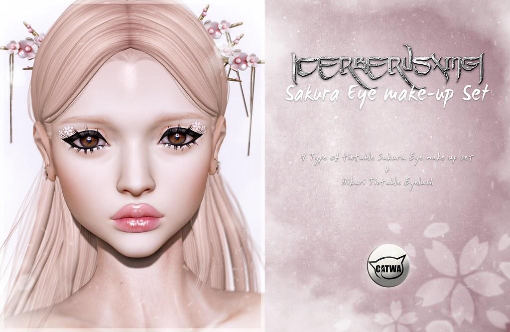 [CX] Hikari Eyelashes & Sakura Eye Makeup