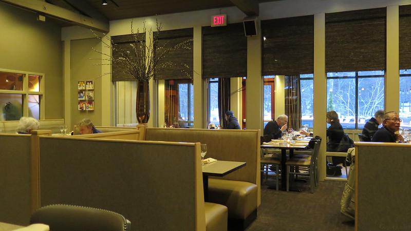 Pond House Cafe interior