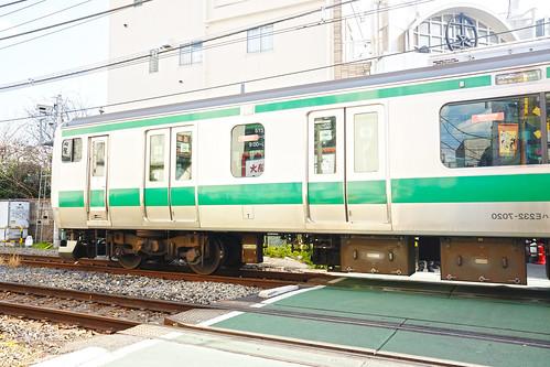 Jujo station Shonan-Shinjuku line