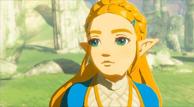 Legend of Zelda Breath of the Wild - Zelda