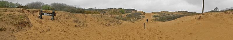 Staatsnatuurreservaat De Westhoek, a dunes & nature reserve near De Panne, Belgium