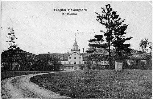 OSLO Frognerparken KRISTIANIA Postkort 113 Frogner Hovedgård.