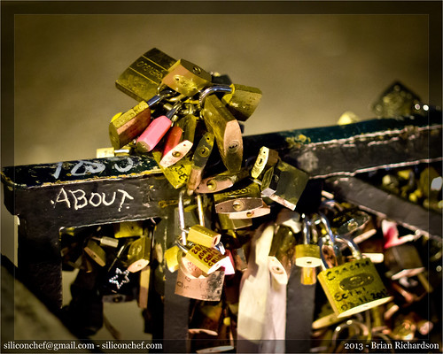 Love Locks. Paris, France (Nov 2013) | by siliconchef