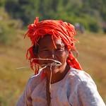 Pa-Oh woman (Myanmar 2013)