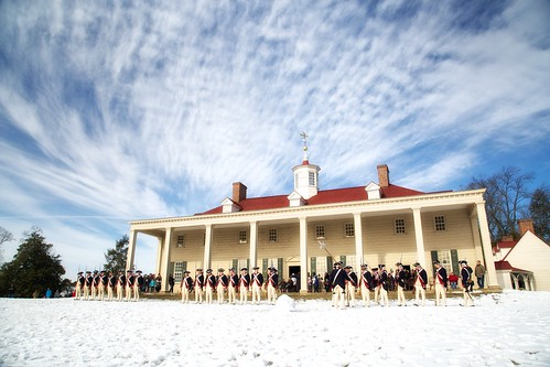 Mount Vernon on President's Day | by Rob Shenk