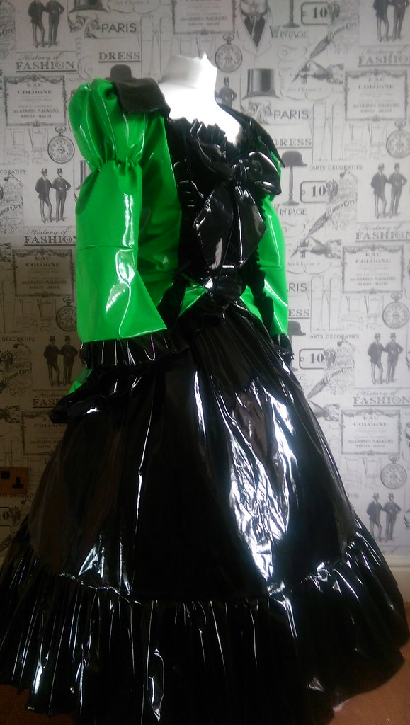 IMAG0168 | pvc ball gown custom made to any size | Suzi sews | Flickr