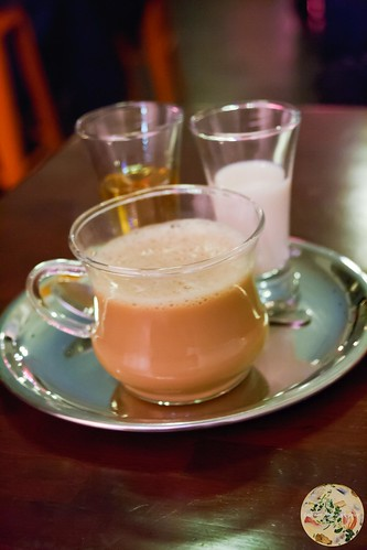 Chai with Bourbon and Somrus
