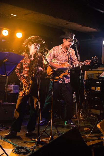 コスモポリタンカウボーイズ Cosmopolitan Cowboys live at Manda-La 2, Tokyo, 23 Feb 2017 -00102