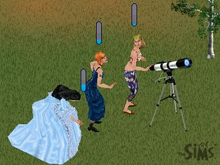 Multiple sims share ONE telescope - 1 | by siaomiew