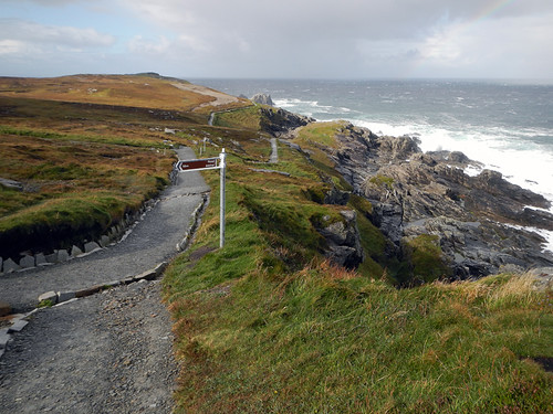 Malin Head, the most northerly point in Ireland