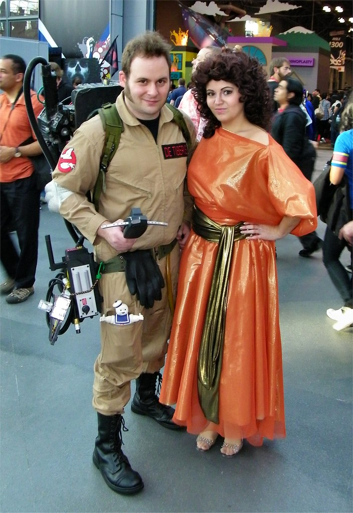 ... Ghostbuster and Dana Barrett Cosplay | by Jennie Ivins  sc 1 st  Flickr & Ghostbuster and Dana Barrett Cosplay | Cosplay of Ghostbusteu2026 | Flickr