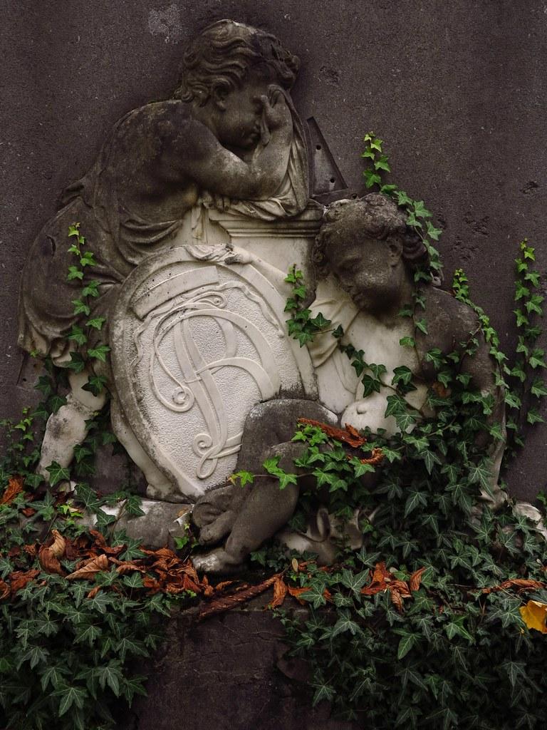Putti Sur Lièrre Symbole De Léternité Et Lattachement Flickr