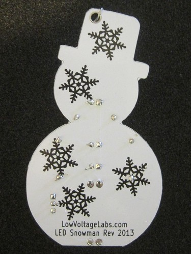 Snowman Kit PCB | by Low Voltage Labs