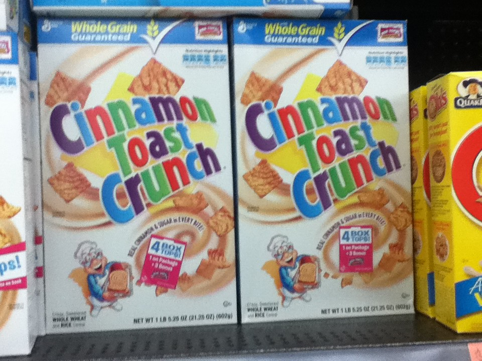 Image result for Cinnamon Toast Crunch