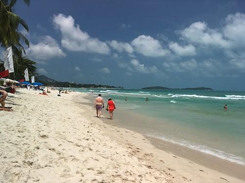 今日のサムイ島 3月5日 チャウエンビーチ