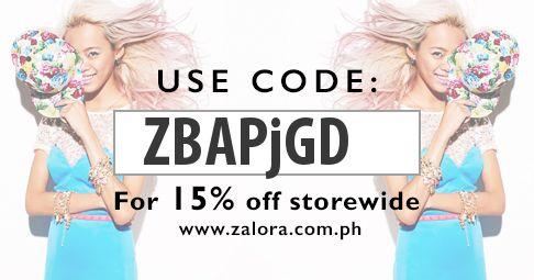 Shop at Zalora now!