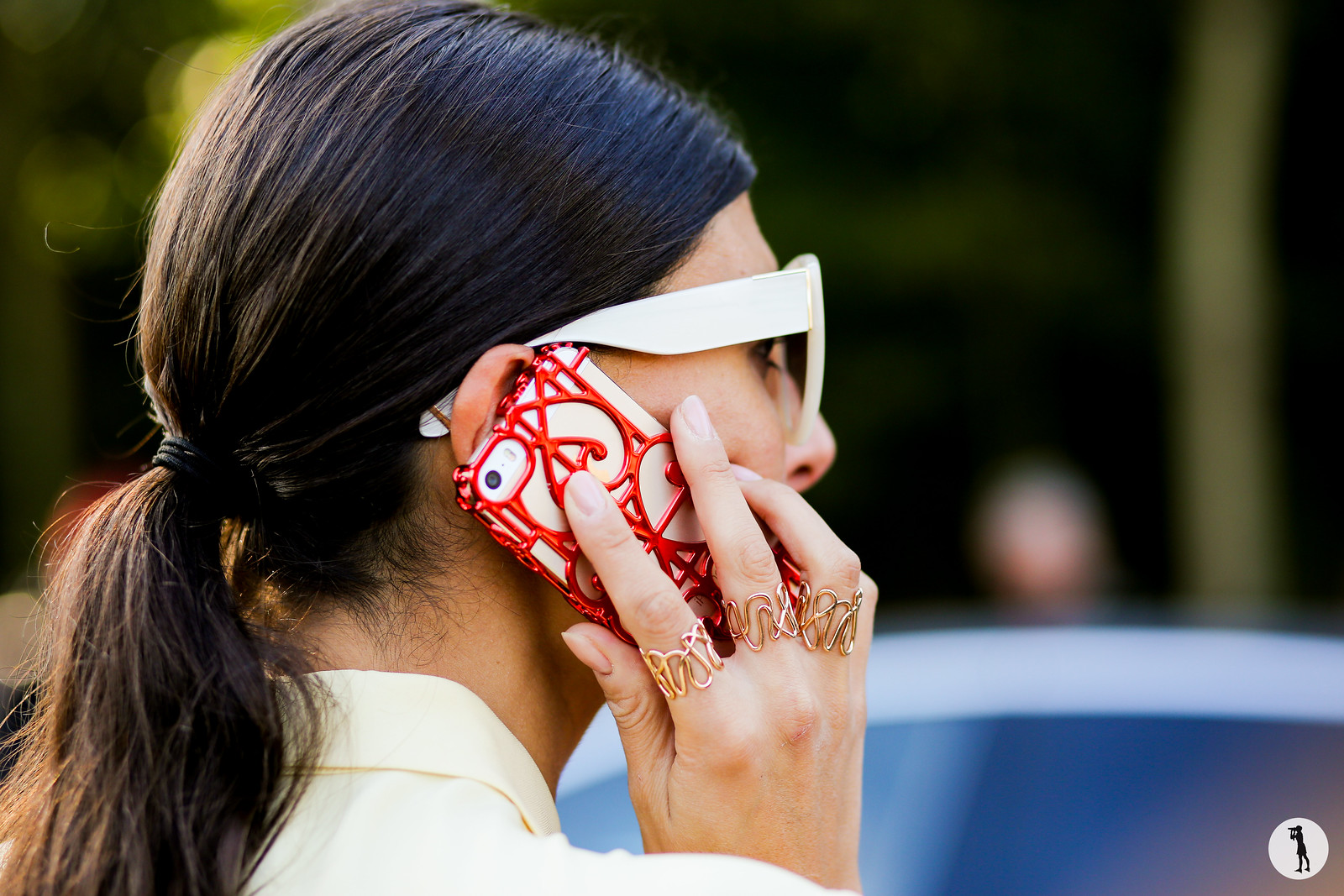 Giovanna Battaglia - Paris fashion week RDT SS15 (5)