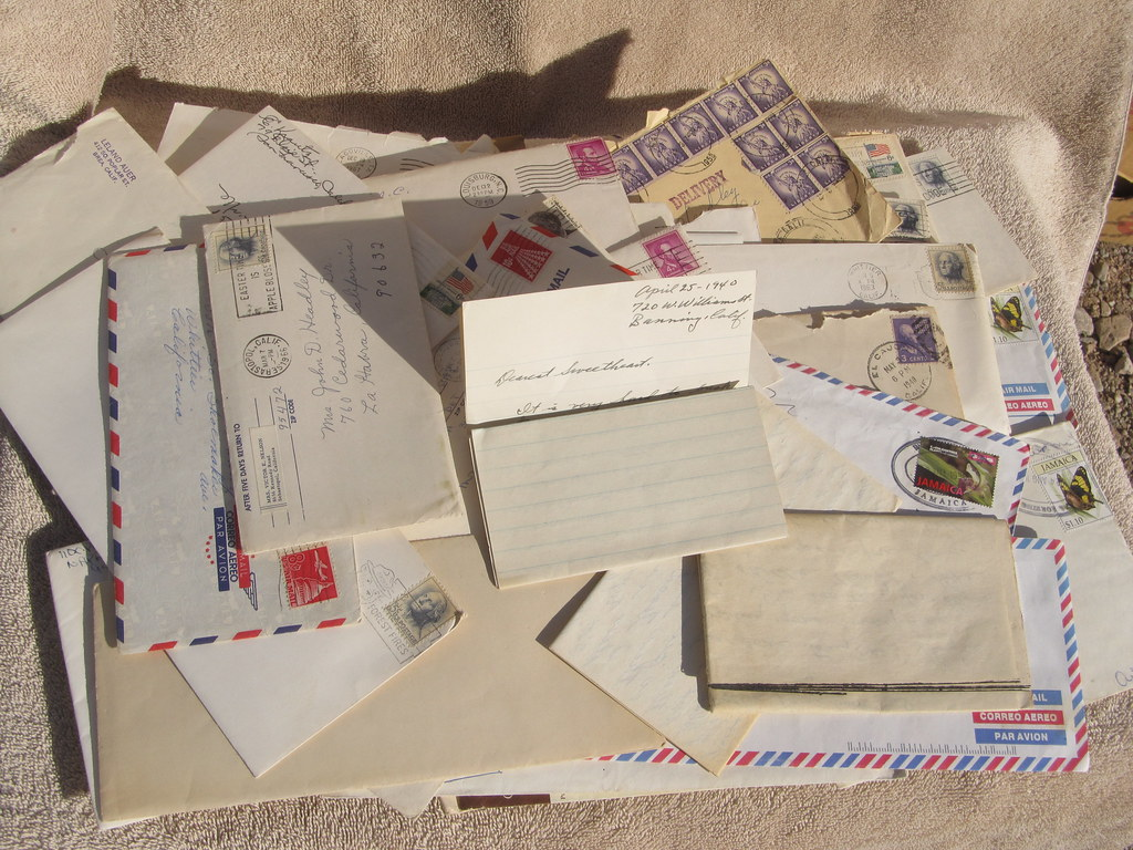 a nice lot of vintage handwritten letters from the mid 1900s for sale http